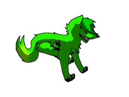 Something That Is Green All Green by xXDeathyXx