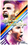 Fifa World Cup 2014 Final Poster 2 by newtonheath92