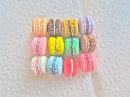 Assorted Macarons by AGTCT