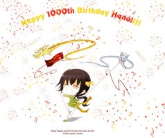 Happy 1000th Birthday Hanoi by Applechu