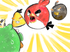 Angry Bird is Angry by Eutrophic