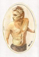 Shirtless Leto-card by ihni