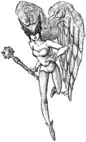 Hawkgirl - request by KnifeInToaster