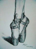 Ballet shoes by Tiddlywinks11