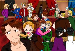1P! and 2P! Hetalia: A Funny Moment! by JaxAugust