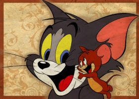 Tom and Jerry by snowrainbow