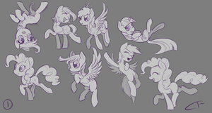 Pony Studies 1 by CyberToaster