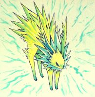 Jolteon by FluffyFluffs