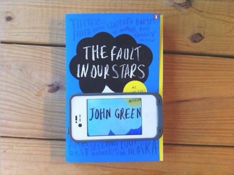 Book Through A Phone - The Fault In Our Stars by xKailtin