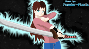 me with my katana by Unseen1026