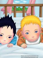 sasuke and naruto babies by zero-16
