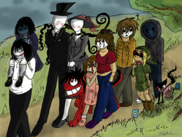 A Creepy Pasta Walk by FridaPearlie