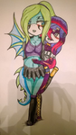 Lagoona X Gellina Colored by InsanityBloodRose