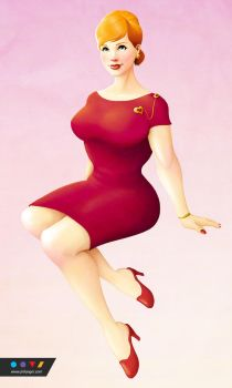 Joan Holloway by omnidipus