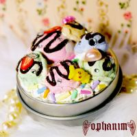 Ice cream sweets deco tin by OphanimGothique