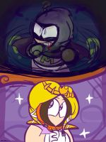 Mysterion and Princess Kenny by Wendesaurus