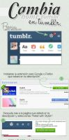 Cambia ''home buttom'' - Tumblr tutorial. by Ihavethedreamersdise