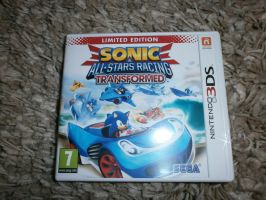 Sonic All Stars Racing Transformed 3Ds by SpriteGirl