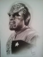 Worf! by Honeyzdewz