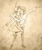 Ballet Love by vintage3freak