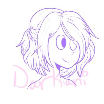 Lapis OC Headshot 1 with watermark by DarKiani