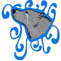 iScribble Crying Wolf by lucidcoyote