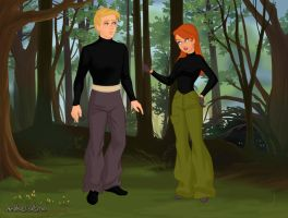 Fairytale - Kim and Ron by autumnrose83