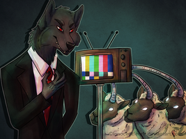 The Wolf and The Sheep by InnocentFenrir