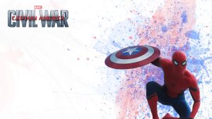 Spidey-Civil-War by TR1GG3R