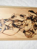 Ivy woodburning top half by NerdCraft