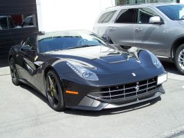 Dark Grey F12 by SeanTheCarSpotter