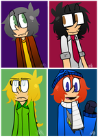 LucyAngeloFearnePuddles by Jelly-Filled-Zombies