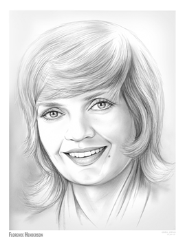 Florence Henderson 1934 - 2016 by gregchapin