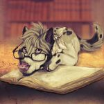 A well read book by RoyalAnubis