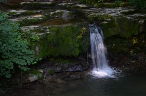 Waterfall of the stream Molino by Plesk90