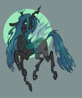 Queen Chrysalis by Natachouille