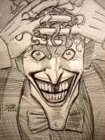 Joker: Life's a cruel Joke by myconius