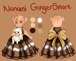 Nanami Ref by GingerQuin