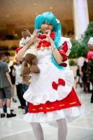 Cosplay- Red Riding Hood Miku by Sunofureku