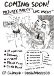 private party lnc uncut poster by titoyusuf