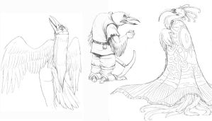 bird folk by hibbary