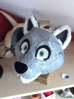 Fox Head WIP by Alinchen-Tenny