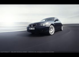 BMW 530 at STCC-course by dejz0r
