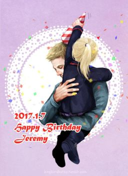 Happy Birthday, Jeremy by kingbirdkathy