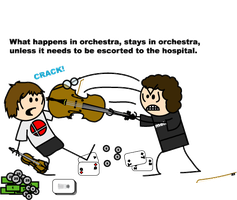 What happens in orchestra... by Drakiin-Magis
