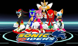 Sonic Riders in MMD by jigokusister95
