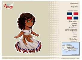 [HETALIA] Dominican Republic Profile by krazychick10101