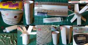 How to papercraft and tricks by Znegil