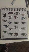eyes and copics practice by Jamie5m