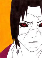 itachi by frecklesmile